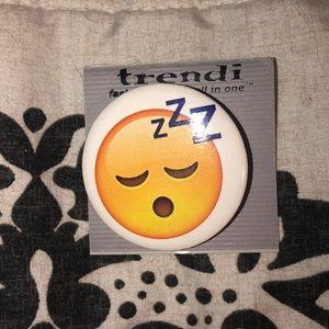 Other - Trendi sleeping emoji pin